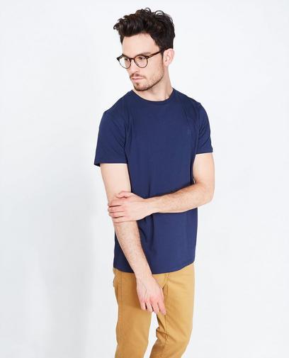 Zwart T-shirt met comfort fit